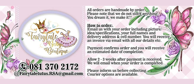 FAIRYTALE TUTUS BOUTIQUE