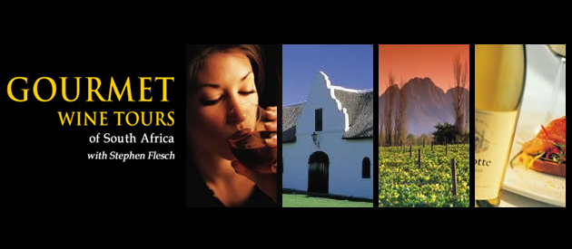 GOURMET WINE TOURS, CAPE WINELANDS